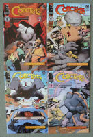 "CONCRETE ""KILLER SMILE"" #1-4 SET..PAUL CHADWICK..DARK HORSE 1ST PRINT..FN+"