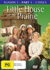 Little House On The Prairie : Season 3 : Part 1(DVD, 2008, 3-Disc Set) BRAND NEW