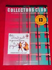 Royal Mail Collectors Club #13 - Robert Burns - Jan 1996
