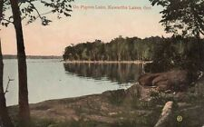 Antique POSTCARD c1910 On Pigeon Lake KAWARTHA LAKES, ONTARIO 12838