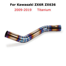 ZX6R ZX636 2009-2019 Titanium Mid Connect Link Pipe Slip for Kawasaki Ninja 636