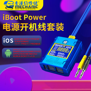 MECHANIC Latest IBoot Power Wire for Android Iphone IOS Power Line DC Test Cable
