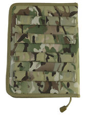 KOMBAT MOLLE FULLY ZIPPED TACTICAL NOTEBOOK NOTEPAD HOLDER FOLDER A5 BTP MTP