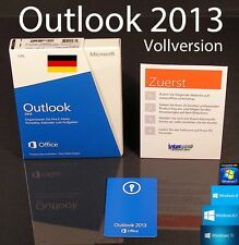 Microsoft Office Outlook 2013 Vollversion Box 32/64-Bit DE OVP NEU