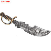 Plastic Pirates Sword Toy Decorations knife Costume Kids Weapon Cosplay