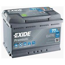 EXIDE EA770 Starterbatterie PREMIUM Fußraum , Kofferraum