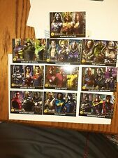 NEW Injustice Arcade Gods Among Us Series 2 Set of Team Cards 101-110 Non Foil🥳