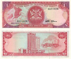 Trinidad and Tobago 1 Dollar (ND/1986) - Ibis/p36d UNC
