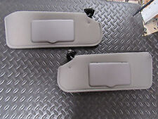 1993-02 FIREBIRD CAMARO LIGHT GREY new SUNVISOR PAIR MIRROR SHADE VANITY