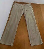 The North Face Women's Corduroy Classic Straight Jeans Sz 14 Stone Beige 7 Pkts