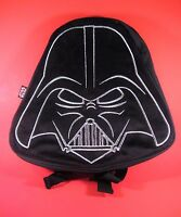 Star Wars Darth Vader Small Black Plush & Canvas Kids Backpack Lucasfilm NEW