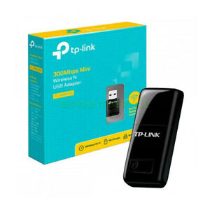 TP-Link TL-WN823N Wi-Fi Dongle 300 Mbps Mini Wireless Network USB Black Adapter