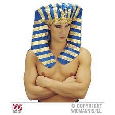 Pharoah Headdress Egypt Egyptian Mummy Fancy Dress Costume Accessory Prop