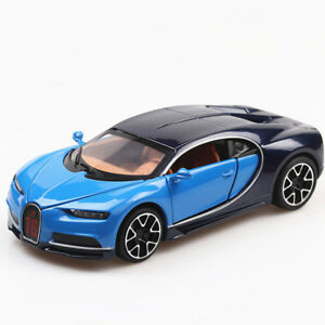 1/32 Bugatti Chiron Diecast Alloy Pull Back Car Collectable Toy Gift for Kids
