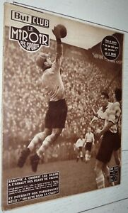 BUT & CLUB MIROIR SPORTS #324 1951 FOOTBALL BARATTE LILLE LOSC-RACING BOXE RUGBY
