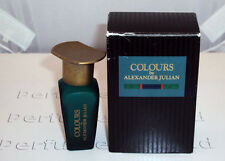 COLOURS BY ALEXANDER JULIAN FOR MEN 7.5ML.OZ.EDT SPLASH MINIATURE (EMPTY BOTTLE)