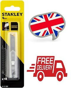 Stanley 010095  9mm Snap-Off Blades Pack of 10