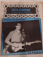 MAY-JUNE 1978 GOLDMINE THE RECORD COLLECTOR'S MAGAZINE BUDDY HOLLY