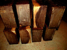 EIGHT (8) WALNUT BOWL BLANKS LATHE TURNING BLOCK WOOD LUMBER 5 X 5 X 3""