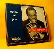 CD Reader's Digest Louis Armstrong Legends Of Jazz 54TR 2003 (3XCD) Classic Jazz