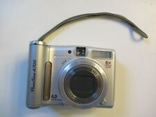 Canon PowerShot A700 Camera 6x Optical Zoom 6.0 Megapixels TESTED
