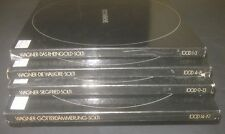 WAGNER THE RING GEORG SOLTI DECCA 100D 1-19 19 LP SET in 4 BOXES EX