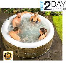 Cleverspa hot tub jacuzzi pool spa 4 persons garden indoors outdoors swimming
