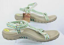 Skechers Sandal Ladies Size 9 Reggaes Tan  Straps  Walking Hiking Outdoors