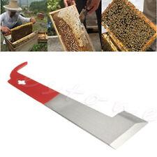 Beekeeping Tool J Shape Stainless Steel  Red Curved Tail Bee Hive Hook Scraper
