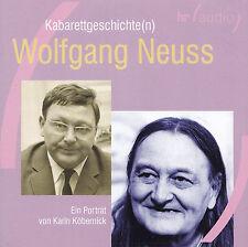 WOLFGANG NEUSS - CD - Kabarettgeschichte(n) - Ein Porträt von Karin Köbernick