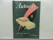 Feb 1957 The Autocar Magazine Anglia De Luxe Ford Zodiac A35 Austin L9941