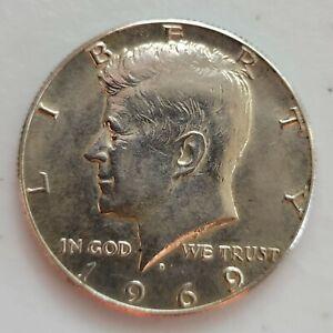 1969 Kennedy Half Dollar--40% SILVER