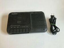 Sony Cassette-Corder Tcm-818 Portable Cassette Recorder & Player Tested - Works!