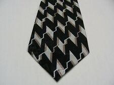 DESIGNS BY A. ROGERS - GEOMETRIC PATTERNED NECK TIE!