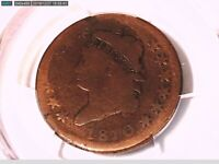 1810 Large Cent PCGS Genuine Scratch - AG Detail 38772861 Video
