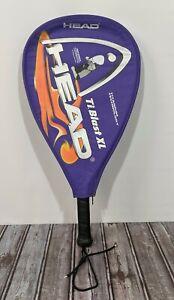 "HEAD Blast XL Long String Racquetball Racquet and Soft Case 3 5/8"" Grip"