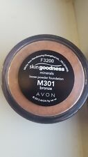 Avon Skin Goodness Minerals Loose Powder Foundation SPF20 - Bronze - BNIB