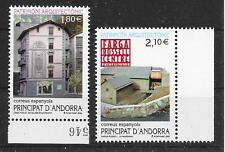 Spanisch ANDORRA/ Architektur MiNr 291/92 **