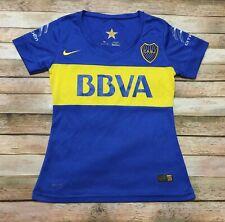 Boca Juniors Nike Womens Jersey 2015-16 Argentina Futbol Soccer Shirt Blu Medium