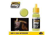 AMMO OF MIG A.MIG-0221 Acrylic Color Zinc Chromate Yellow 17ml