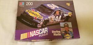 MB 200 piece Puzzle Nascar Sterling Marlin milton bradley