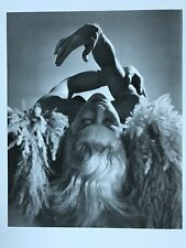 OPHELIA HORST P HORST 1939/92 Lisa Fonssagrives Printed Japan Photo Gravure COA