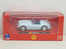 MG A Cabrio in hellblau, OVP, New Ray, 1:43