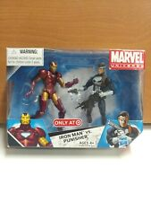 Marvel Universe Iron Man Vs Punisher 2 pack Target Exclusive