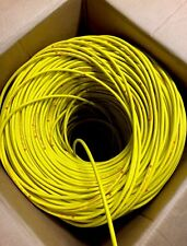 2 Meters Yellow 8mm Silicone Supressed Carbon Core HT Ignition Spark Plug Cable