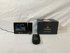 DR.PREPARE Projection Alarm Clock Indoor/Outdoor Temperature Display - Returned