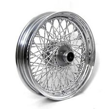 "80 SPOKE TWISTED 16"" FRONT 16 X 3 WHEEL HARLEY SOFTAIL FLSTF FAT BOY FLSTN"