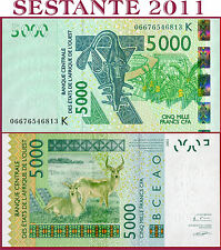 (com) WEST AFRICAN STATES - K = SENEGAL -  5000 5.000 FRANCS 2006 - P 717K - UNC