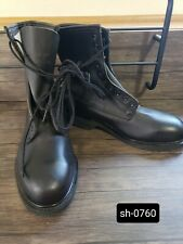 Wolverine World Wide Inc. Black Leather Combat / work Boots Mens 9 Xw Steel Toe.