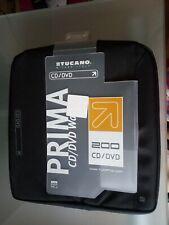 TUCANO PCDPA 200 - SLEEVE FOR 200 CD/DVD PRIMA, BLACK